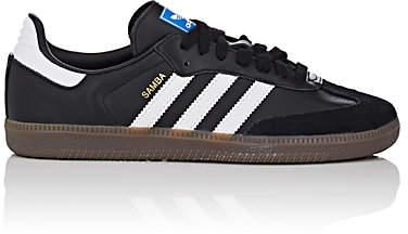 adidas Women's Samba Leather Sneakers - Black