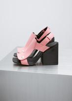 Marni camellia / black sandal shoe
