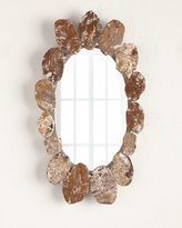 Janice Minor Agate Oval Mirror