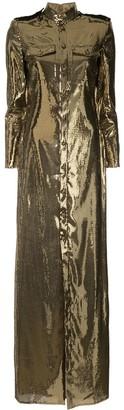 Ralph Lauren sequin shirt dress