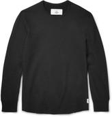 Reigning Champ - Scalloped Loopback Cotton-jersey Sweatshirt