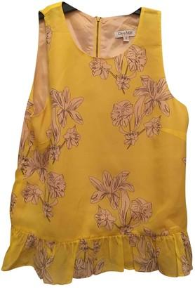 Olivia Rubin Yellow Silk Tops