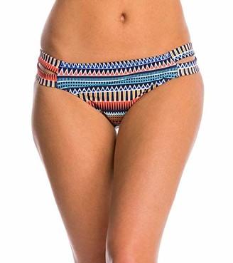 Jag Women's Tribal Essence Strappy Side Full Coverage Swimsuit Bikini Bottom