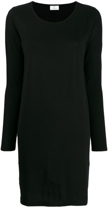 Allude colour block knitted dress