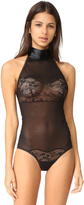 Hanky Panky After Midnight Love Tie Open Bodysuit