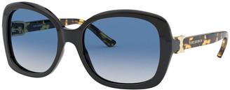 Tory Burch Rectangle Acetate Sunglasses