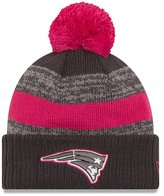 New Era New England Patriots Women's NFL Breast Cancer Awareness Sport Knit Hat - Size One