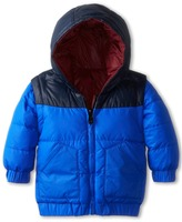 Little Marc Jacobs Reversible Puffer Jacket (Infant)