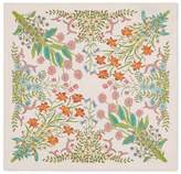 Gucci New Flora print silk pocket square