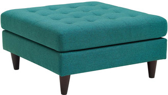 Modway Empress Upholstered Fabric Large Ottoman