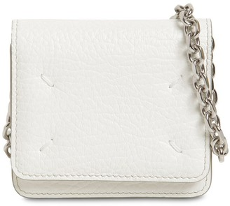 Maison Margiela MINI LEATHER WALLET CHAIN