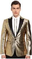 DSQUARED2 London Velvet Jacquard Tuxedo Jacket