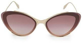 Alexander McQueen 66MM Cat Eye Sunglasses