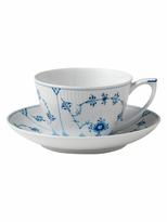 Royal Copenhagen Fluted Plain Tea Cup & Saucer