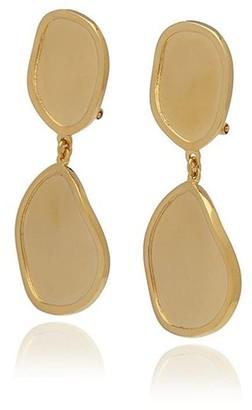 Georgina Jewelry Gold Foil Long Earrings