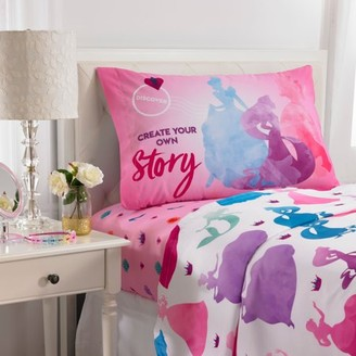 Princess Disney Ready to Explore Kids Bedding Sheet Set, 1 Each