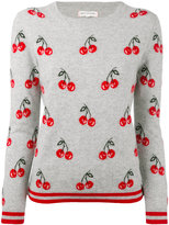 Chinti and Parker cashmere all-over cherry sweater - women - Cashmere - XS