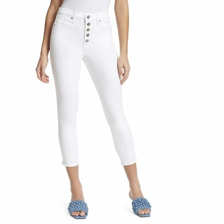 Ella Moss Women's Super High Rise Skinny Cropped Jean
