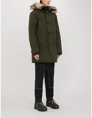 Polo Ralph Lauren Faux fur trim hood shell-down parka jacket