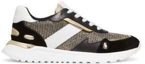 MICHAEL Michael Kors Monroe Suede Trainer Sneakers