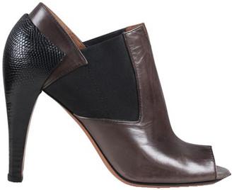 Alaia Brown Leather Peep Toe Pumps Size 37