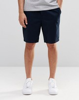 French Connection Stretch Slim Draw String Shorts
