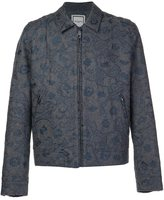 Wooyoungmi embroidered zipped jacket - men - Nylon/Wool - 48