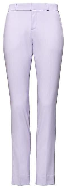Banana Republic Petite Ryan Slim Straight-Fit Washable Italian Wool Pant