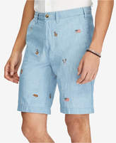 Polo Ralph Lauren Men's Big & Tall Classic-Fit Chambray Shorts