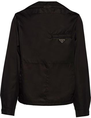 Prada Re-Nylon blouson shirt