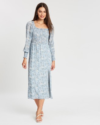 Atmos & Here Tessa Split Front Dress