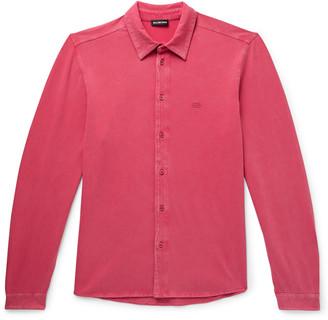 Balenciaga Slim-Fit Stretch-Cotton Jersey Shirt