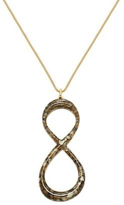 Lafayette 148 New York Knot Pendant Necklace