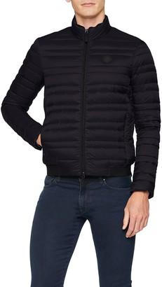 A X Armani Exchange Men's Long Sleeve Hooded Puffer