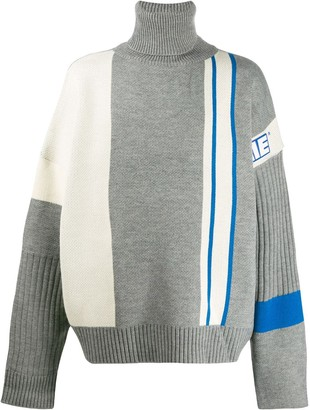 Ader Error Asymmetric Panelled Jumper