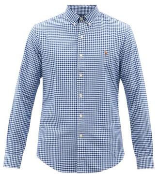 Polo Ralph Lauren Logo-embroidered Gingham Cotton Shirt - Blue Multi