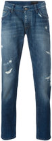 Dolce & Gabbana distressed jeans - men - Cotton - 50