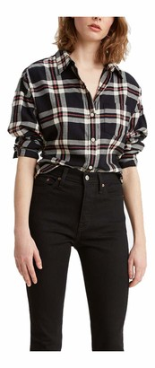 Levi's Women's Relaxed Flannel Shirt