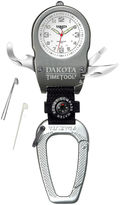 Dakota Men's Time Tool Carabiner Watch, White 79738