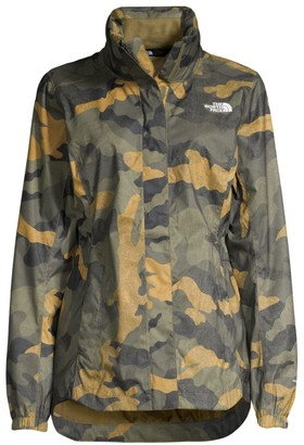 The North Face Resolve Standard-Fit Camouflage Jacket