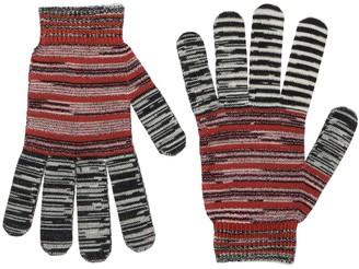 Missoni Multicolor Wool & Lurex Gloves