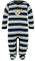 Steiff Unisex Footies - Blue - 0-3 Months