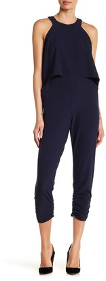 Love...Ady Popover Shirred Leg Jumpsuit