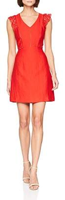 Suncoo Women's Corinne Party Dress, Red Rouge 13, 8