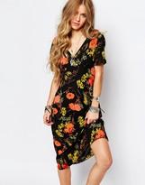 Glamorous Poppy Tea Dress