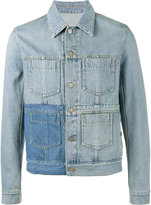 Maison Margiela bleached denim jacket - men - Cotton - 50