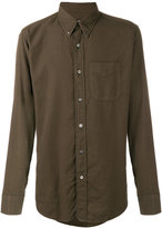 Tom Ford classic slim fit shirt - men - Cotton/Cashmere - 41