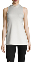James Perse Sleeveless Mockneck Top