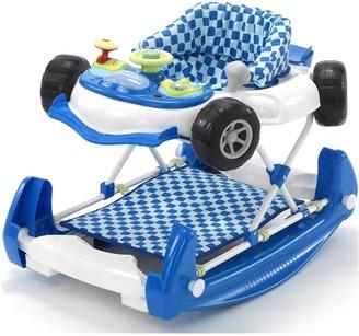 My Child Car Baby Walker Rocker - Blue