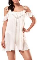 Robin Piccone Cold Shoulder Cover-Up Dress